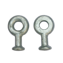 Widely Used Q Type Galvanized Forged Steel Ball Eye and Ball Head Shackle